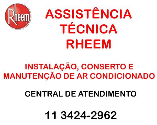 Assistência técnica Rheem