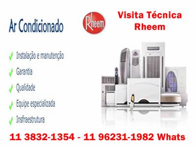 instalação ar condicionado Rheem